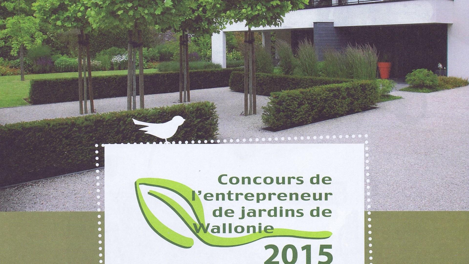 Concours de l'entrepreneur de jardin 2015